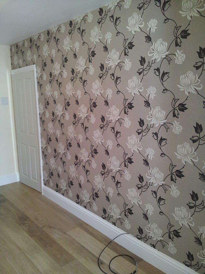 Wallpapering in Aldershot 1