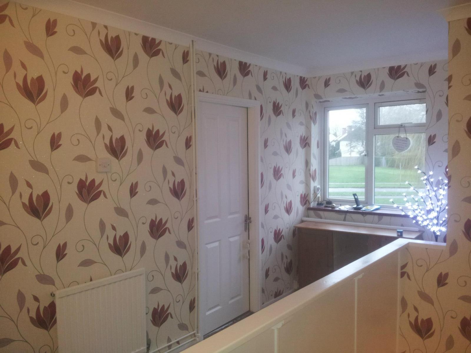 Wallpapering in Farnborough 1