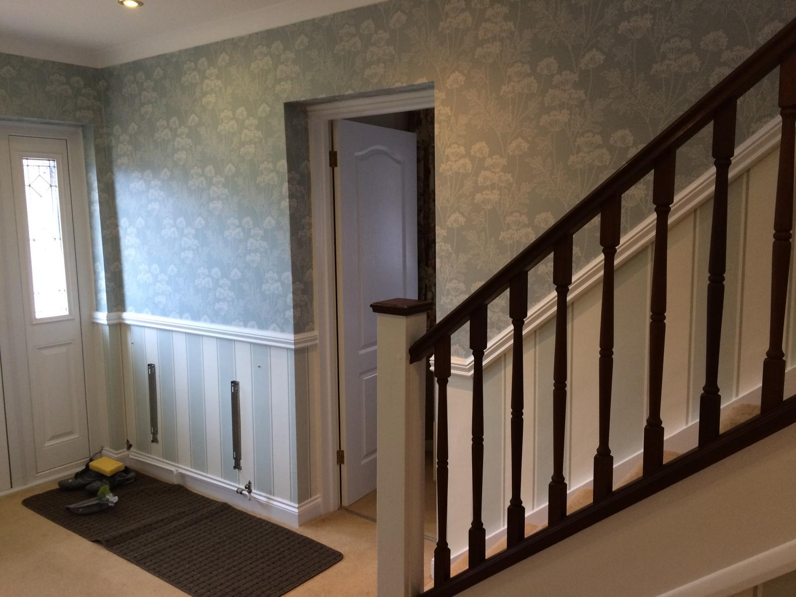 Wallpapering in Farnborough  2